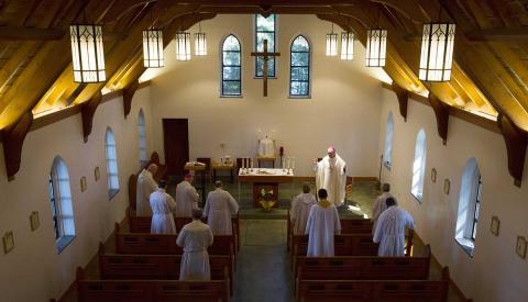 Mass at the Shrine
